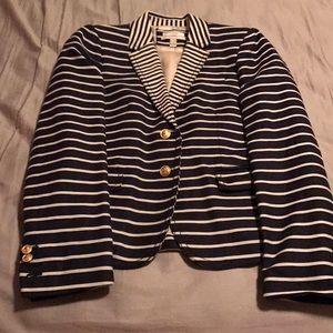 Jcrew Stripe Blazer